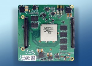Arria 10 SoC Embedded Imaging Processor Board by Critical Link