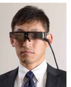 Prototype of Retina Imaging Laser Eyewear for Low Vision Care