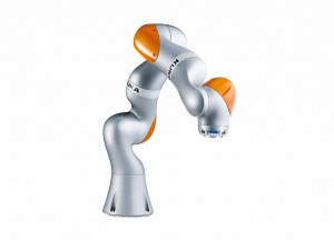 Photo KUKA AG, Augsburg, Germany The lightweight construction robot intelligent industrial work assistant guarantees that man and machine cooperate smoothly