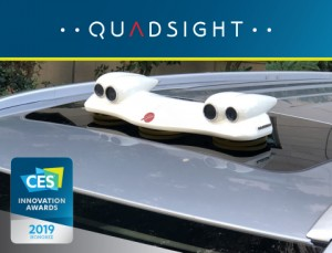 Foresights flagship product QuadSight is a multi-spectral stereoscopic vision system that offers obstacle detection capabilities under all weather and lighting conditions, for semi-autonomous and autonomous vehicles Photo Business Wire