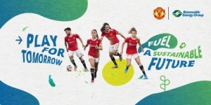 Renewable Energy Group teams up with Manchester United to create a more sustainable future Graphic Business Wire