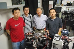 ASU successfully demonstrated continuous operation of a laser at room temperature under electrical injection