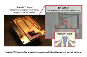 Silicon-on-Insulator Solution Combines Plasmonics and Silicon Photonics