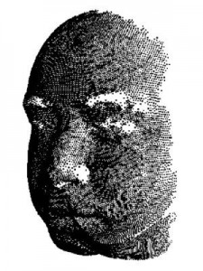 SVIs patented Dual Chirp FMCW LiDAR techniques scans the face, as an example, generating over 20,000 points