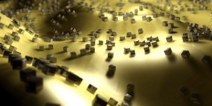 Silver nanocubes, developed at Duke University, absorb a remarkable amount of light