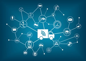 Smart connected trucks