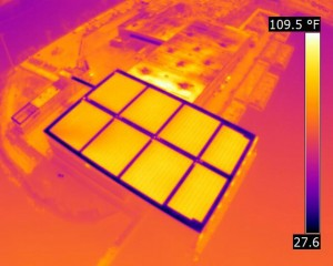 Solar Roof Infrared Inspection