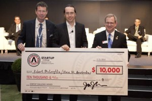 Startup challenge winners receive 10,000 first prize