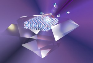 Research aims to confine light interaction to atomic scale and demonstrate selective single atom removal Image Carlo Bradac