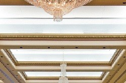 The Lighting Quotients Lerner Ballroom lighting