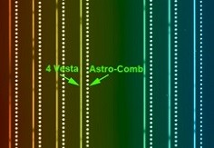 Rediscovering Venus using Vesta and Astro-comb Credit David Phillips