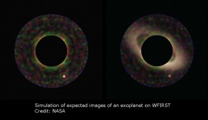 Source NASAs Simulations of Expected Images of an Expolanet on WFIRST