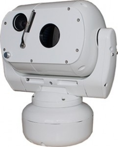 Pan-Tilt Video Surveillance System With Continuous EO and IR Zoom