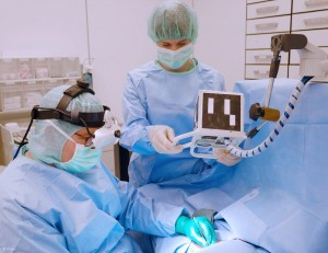 Augmented reality glasses in surgery