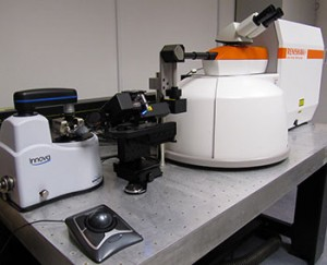 The Bruker Innova AFM and Renishaw inVia Raman spectrometer make a powerful combination for materials characterisation