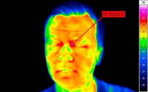 InfraTec thermographic camera detects fever