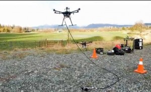Drones find land mines