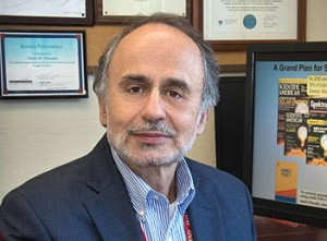 Brookhaven Lab Senior Scientist Emeritus Vasilis Fthenakis Credit Brookhaven Lab