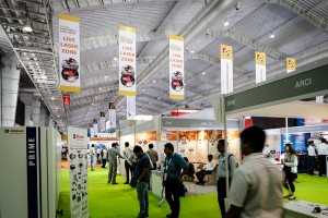 Laser World of Photonics 2015 exhibition hall