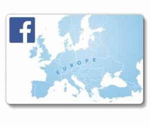 Facebook European optical network