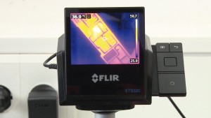 ETS320 thermal imaging camera