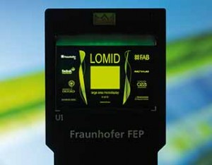 Fraunhofer FEP OLED microdisplay