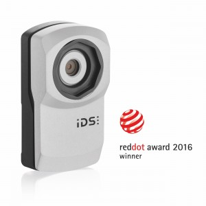 USB 3 uEye XC Rewaded with Red Dot Award Product Design 2016