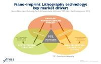 Nano-imprint lithography