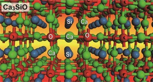 Crystal structure of the inverse perovskite Ca3SiO semiconductor