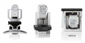 DSX Digital Microscope System From Olympus left to right Olympus DSX110, 510, and 510i