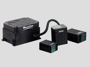 Neuvitions first version of its 480-lines HD video lidar, the Titan M1