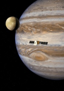JUICE mission artists impression courtesy ESA