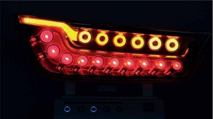 Osram tail light with OLEDs
