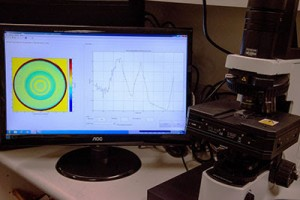 The Phasefocus Optical Profiling system in use at Brien Holden Vision Institute, Sydney, Australia