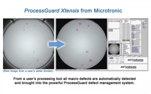 ProcessGuard Xtensis from Microtronic automatically detects wafer defects from processing equipment