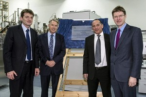 Greg Clark opens Advanced Composite Materials Facility at Southampton