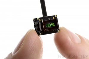 Fraunhofers Ultra-Low-Power OLED Microdisplay