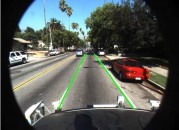 Engineers at MathWorks recently built a system that could identify the location and curvature of lane boundaries of visible lanes on a road