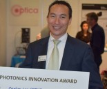 Carlos Lee wins PNO Photonic Innovation Award