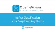 Defect classification with deep learning studio from Euresys