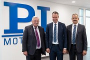 PI Ceramic General Management Dr Karl Spanner, Dr Patrick Pertsch, and Dr Peter Schittenhelm from left to right Image PI
