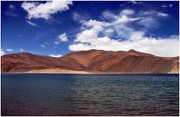 Pangong Lake in Ladakh, India The National Large Solar Telescope, the worlds largest such device to date, will be placed on the banks of this lake