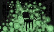 Scientists at The University of Texas at Austin have developed a new microscopy technique for looking at nanoscale structures in biological samples that is analogous to using a glowing rubber ball to image a chair in a dark room Illustration by Jenna Luec