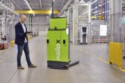 depalletizing with a robot